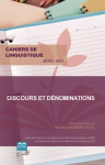 Couverture n° 45/2 Cahiers de linguistique